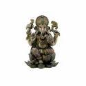 2 Feet Long Copper Finish Lord Ganesha Idol, Color-Copper Finish, Size-Big
