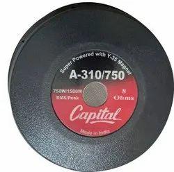 Black A-310/750 Capital Loudspeaker