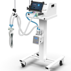 Noccarc V 310 Icu Ventilator, Respiratory Rate: 1-60 Bpm, Tidal Volume: 50-2000ML