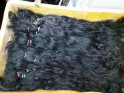 Indian Black Hair Extension For Women And Girl