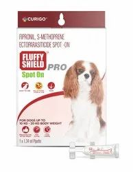 FluffyShield Pro Spot Treatment For Ticks, Fleas And Chewing Lice For Medium Dogs