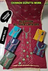 PC COTTOM ALLOVER 5 MTR APPROX SUIT