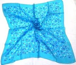 Silk Square Tabby Printed Scarves