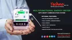 Techno Single IOT Base Energy Meter, Model Name/Number: Tmcb012 Lora Enable, 240