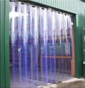 Industrial Vertical PVC Blinds