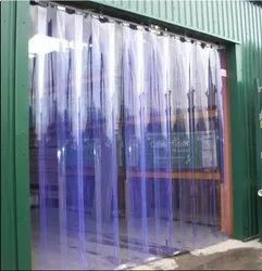 Industrial Vertical PVC Blinds
