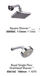 Square Shower