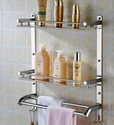18.5inch Stainless Steel Towel Rack BATHROOM SELF