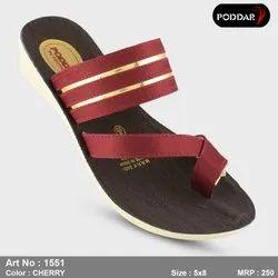 Party Wear Poddar Ladies Footwear Lc-1551, 4*8