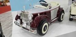 Painted Red, Painted Black 2*6V -4AH Classic Rolls Royce Battery Operated Ride On Car