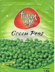 FROZEN AGE A Grade Green Peas, -18, Packaging Size: 1 Kg