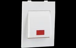 Havells Reo AHBMBIW061 6 A Mega Bell Push with Indicator, For Home