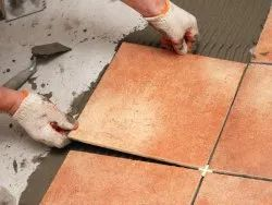 Tiles Flooring Fitting Service, For Indoor, Anti-Skidding
