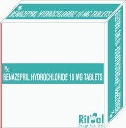 Benazepril Hydrochloride 10 MG Tablets