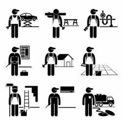 Semi Skilled Labour Manpower Service