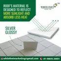 White Cool Roof Tiles - White Feet Tile - Silverplus