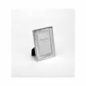Groovy Design Silver Photo Frame, Color-Silver, Size-4X6
