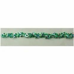 Embroidered Sequins Bead Lace