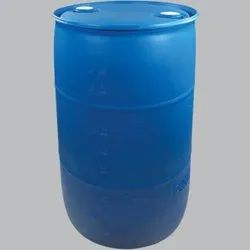 Blue Cylindrical 220 Liter HDPE Drum, For Chemical Storage