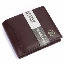 Hammonds Flycatcher RFID Protected Brown Nappa Genuine Leather 6 Card Slots Hf592