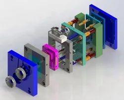 CAD / CAM Plastic,Metal Injection Mold Designing