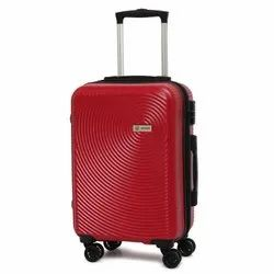 Novex Ivory Check- In Size Scratch Resistant Hard Luggage Trolley Suitcase (red, 28