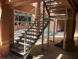 Mild Steel Ms Stairs, For Office, Size/Dimension: 3.5feet