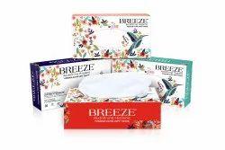 Breeze Facial Tissue Paper, Box