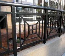 Mild Steel Balcony Grill