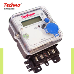 Techno Single Bidirectional Meter, Model Name/Number: Tmcb 012(net)
