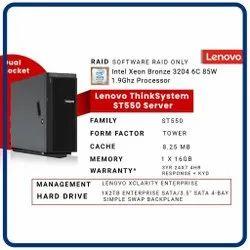 Lenovo Thinksystem St550 Tower Server
