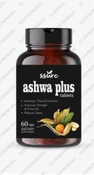 Ssure Ashwa Plus Tablets Rejuvenates Mind & Body and Alleviates Stress