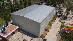 Steel Prefab Pre-Engineered Building For Warehouses