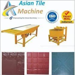 Concrete Paving Tile Making Machine