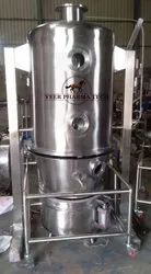 Stainless Steel Silver Fluid Bed Dryer