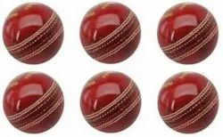 Red Leather Cricket Ball, 163 G