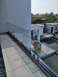 tempered glass fence panels.