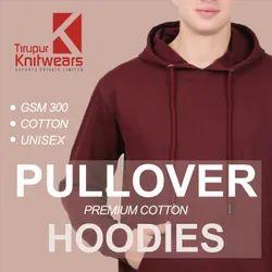 Premium Cotton Plain Blank Pullover Hoodies