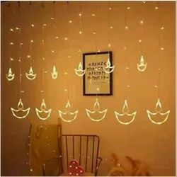 Syska Surface Mounted 10 Feet X 10 Feet LED Decorative Diwali Light, Plug-In, 220 Volt, For Office