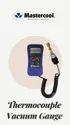 Mastercool 98061 Electronic thermocoupl vacuum gauge