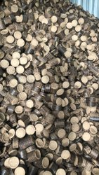 Round Solid Bio-Coal / White-Coal, For Boilers, Grade: Sawdust Material