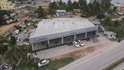 Mild Steel Modular Car Showroom Buildings