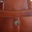 Hammonds Flycatcher Genuine Leather Tan Laptop Messenger Bag