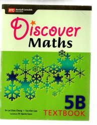 Discover Maths 5B Text Book, English