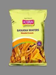 Kiyan Masala Crunch Banana Wafers, Packaging Type: Packet, Packaging Size: 80g