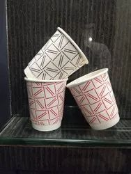 8 ounce double wall printed cup
