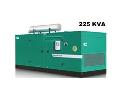 225 KVA Cummins Silent Diesel Generator Set