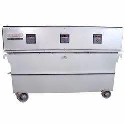 50 KVA Oil Cooled Servo Voltage Stabilizer