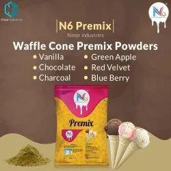 N6 Waffle Cone Premix Powder, Packaging Size: 1 Kg, Packaging Type: Packet