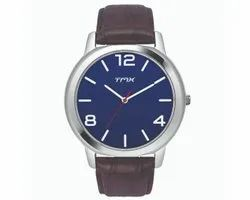 TMX Watch, (Timex Group Of India) Casual Watch With Chrono Leather Strap